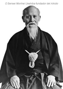 Fundador del Aikido Morihei Ueshiba